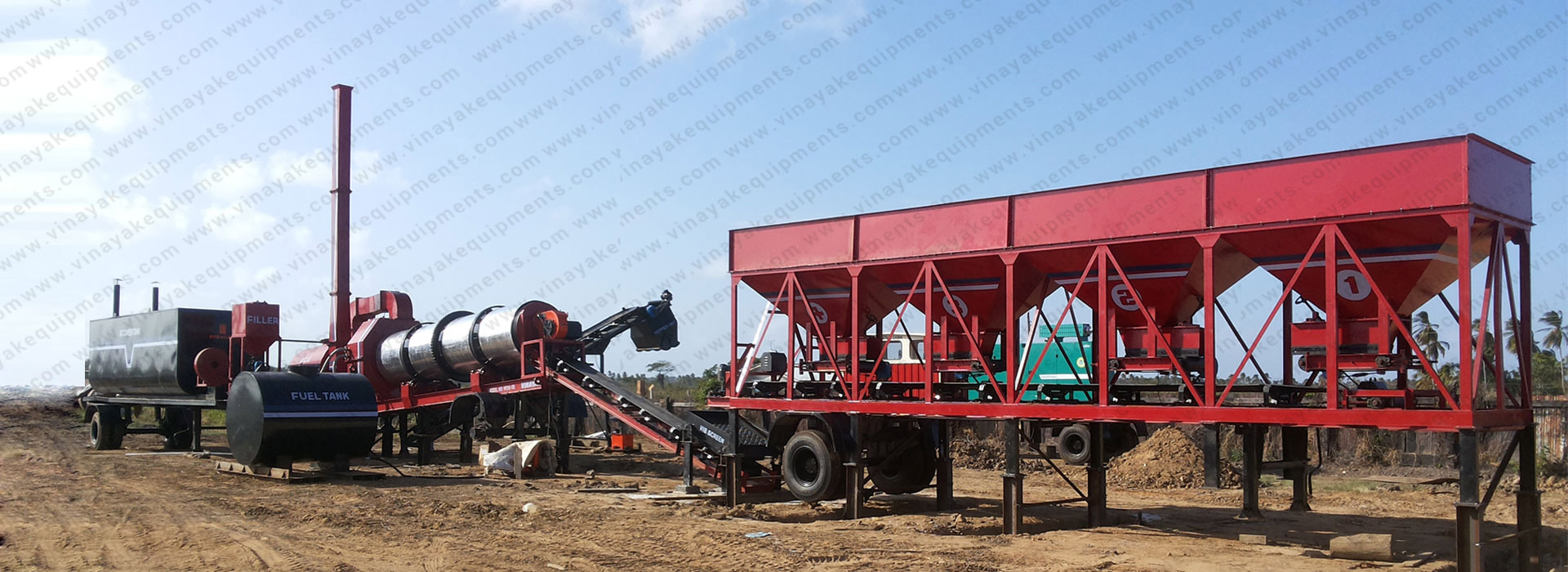 Asphalt drum mix plant manufacturers, suppliers, dealers