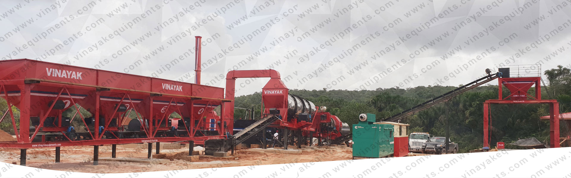 Hot Mix Plant Manufacturer in south africa, india, russia, malaysia