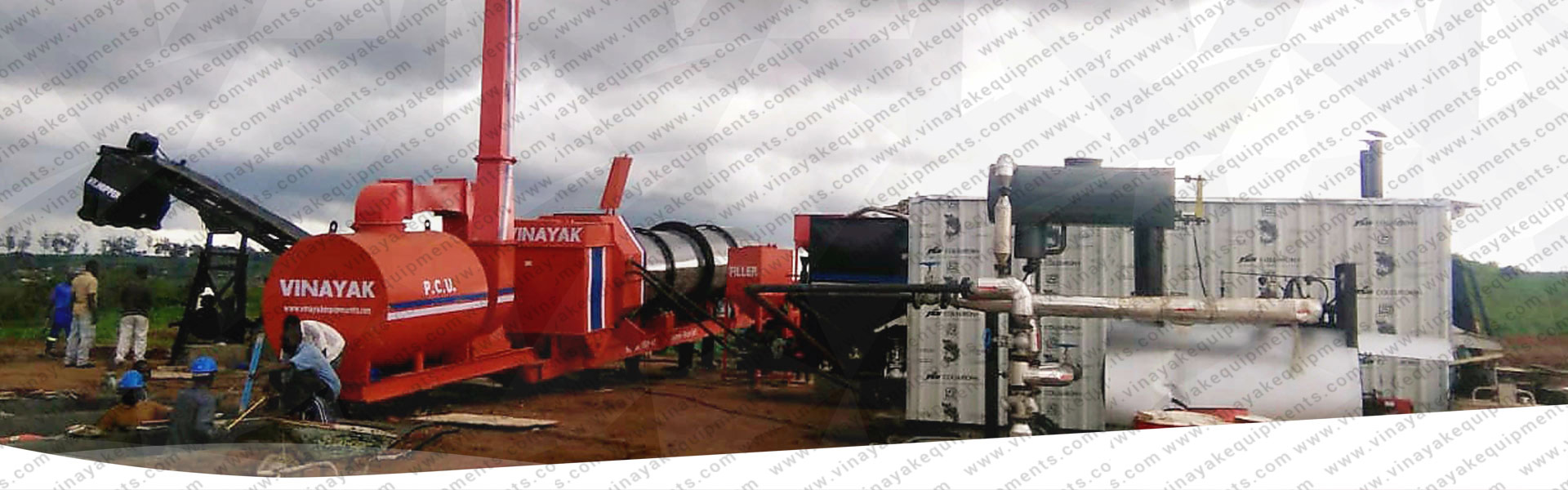 Portable asphalt plant manufacturers, in india, south africa, uae, sri lanka, germany